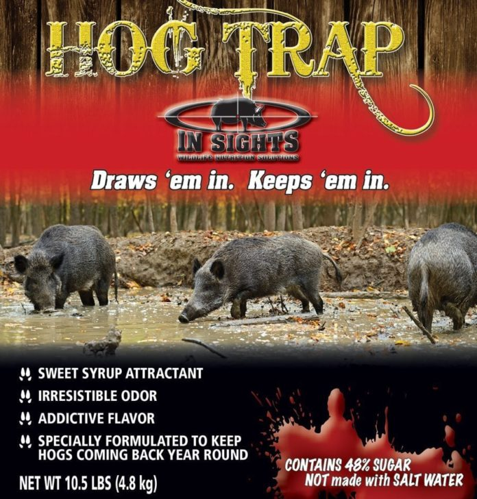 Hog Trap Attractant - In Sights Nutrition, LLC.