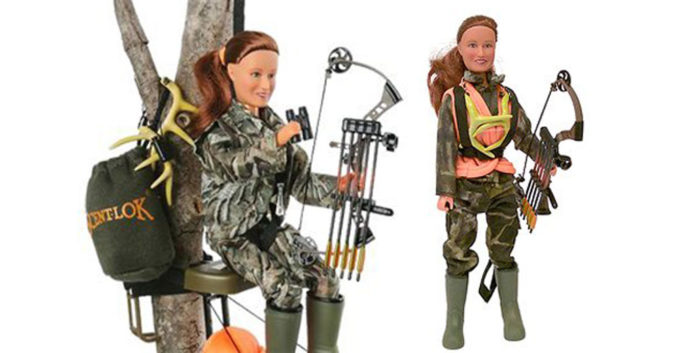 Check out Bow Hunting Ann Action Figure