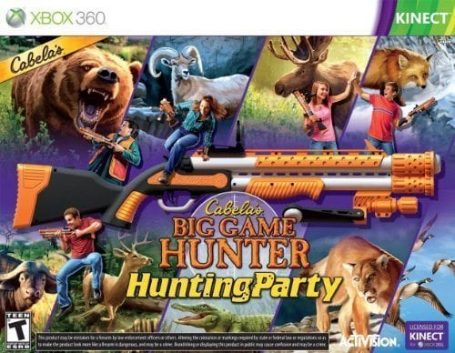 Cabela's Big Game Hunter Hunting Party with Gun – Xbox 360