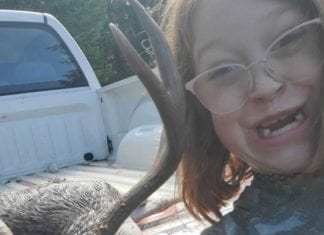 My Daughter's First Buck - She Got It Done. So, Proud of Her! Add Your Hunting Photos to the Hunting Magazine Bragging Board