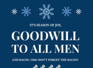 Funny Holiday Hunting Meme for Christmas Bacon Meme | Hunting Magazine