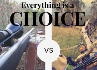 Hunting Meme: Everything is a Choice. Gun Hunting vs. Bow Hunting | Hunting Magazine