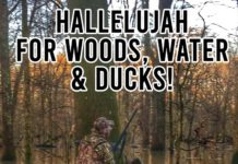 Duck Hunting Meme: Hallelujah for Woods, Water & Ducks!